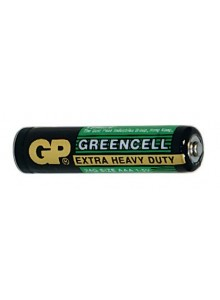 Batérie GP R3G, AAA greencell