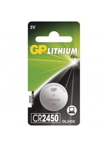 Batéria GP CR 2450 3V 24x5mm