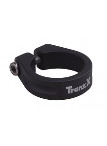Objímka sedlovky TRANZ-X na imbus 28,6 čierna