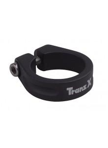 Objímka sedlovky TRANZ-X na imbus 34,9 čierna