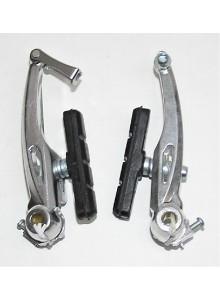 Brzdové čelisti ALHONGA HJ-805 stříbrné