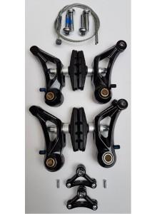 Brzdové čelisti TEKTRO CR-510 cyklocross černé