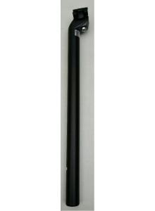 Sedlovka ZOOM SP-C207 AL/AL zámok 28,6/400 mm čierna