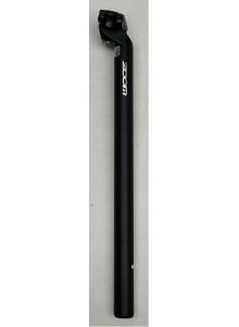 Sedlovka ZOOM SP-C207 AL/AL zámok 30,0/400 mm čierna