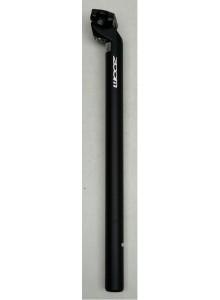 Sedlovka ZOOM SP-C207 AL/AL zámok 30,2/400 mm čierna