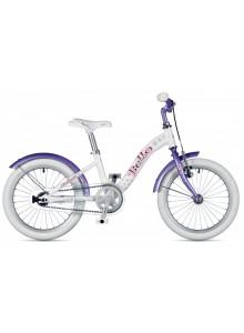 """Bello 16 2019 9"""" biela/fialová Author detský bicykel"""