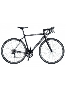 Aura 33 2019 48 čierna/biela/strieborná Author cestný bicykel