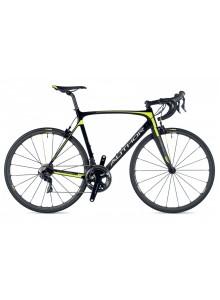 Charisma 77 2019 54 karbón/žltá-neón Author cestný bicykel