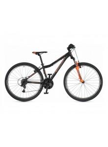 """A-Matrix 26 2020 13,5"""" čierna-matná/oranžová-neón Author detský 26"""" bicykel"""