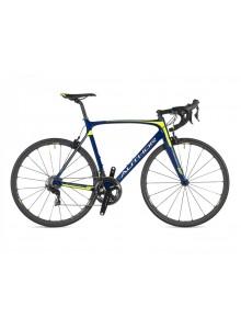 Cestný bicykel Author Charisma 77 2020 54 modrá/žltá-neon