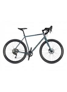 Gravel bike Author Ronin XC 2020 50 sivá-matná/červená